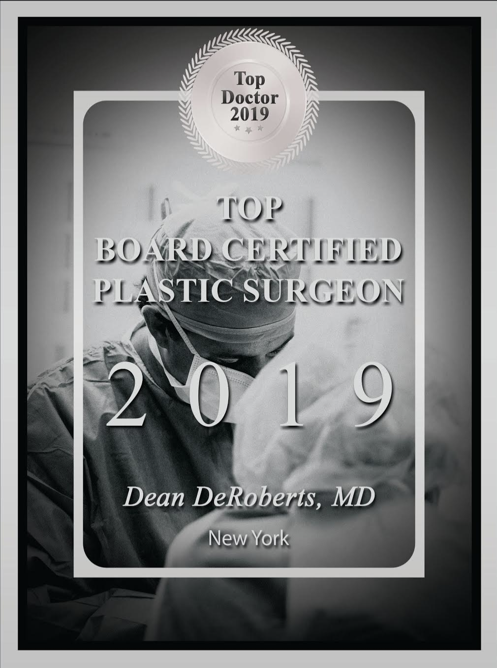 2019 top plastic surgeon